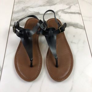 Mossimo• Black & Brown Sandals